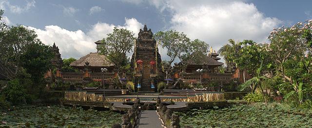 Pura Taman Saraswati (Ubud, Bali, Indonesia