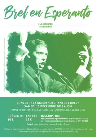 Brel en Esperanto