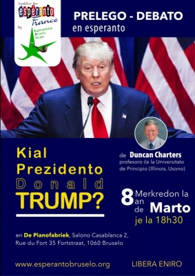 Kial Prezidento Donald TRUMP?